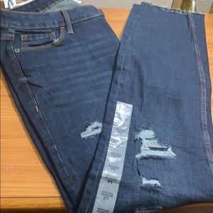 Old Rockstar Stretch Ankle Length Jeans 12